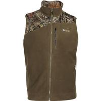 Rocky Full Zip Fleece Vest, Beech, medium