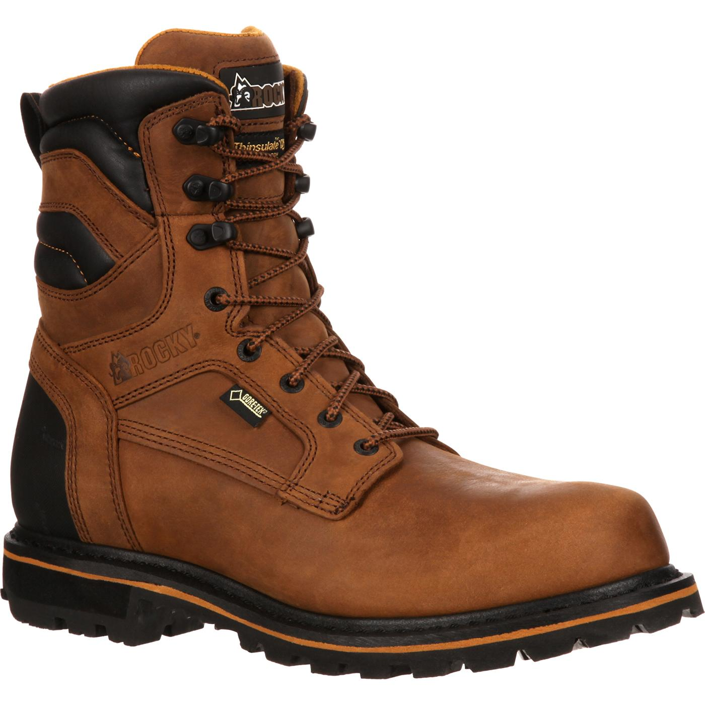 Rocky Governor Gore Tex 174 Insulated Work Boots Rkyk060