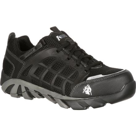 Rocky TrailBlade Composite Toe Waterproof Athletic Work Shoe, , large