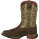 Rocky Little Kid Long Range Square Toe Western Boot, , small