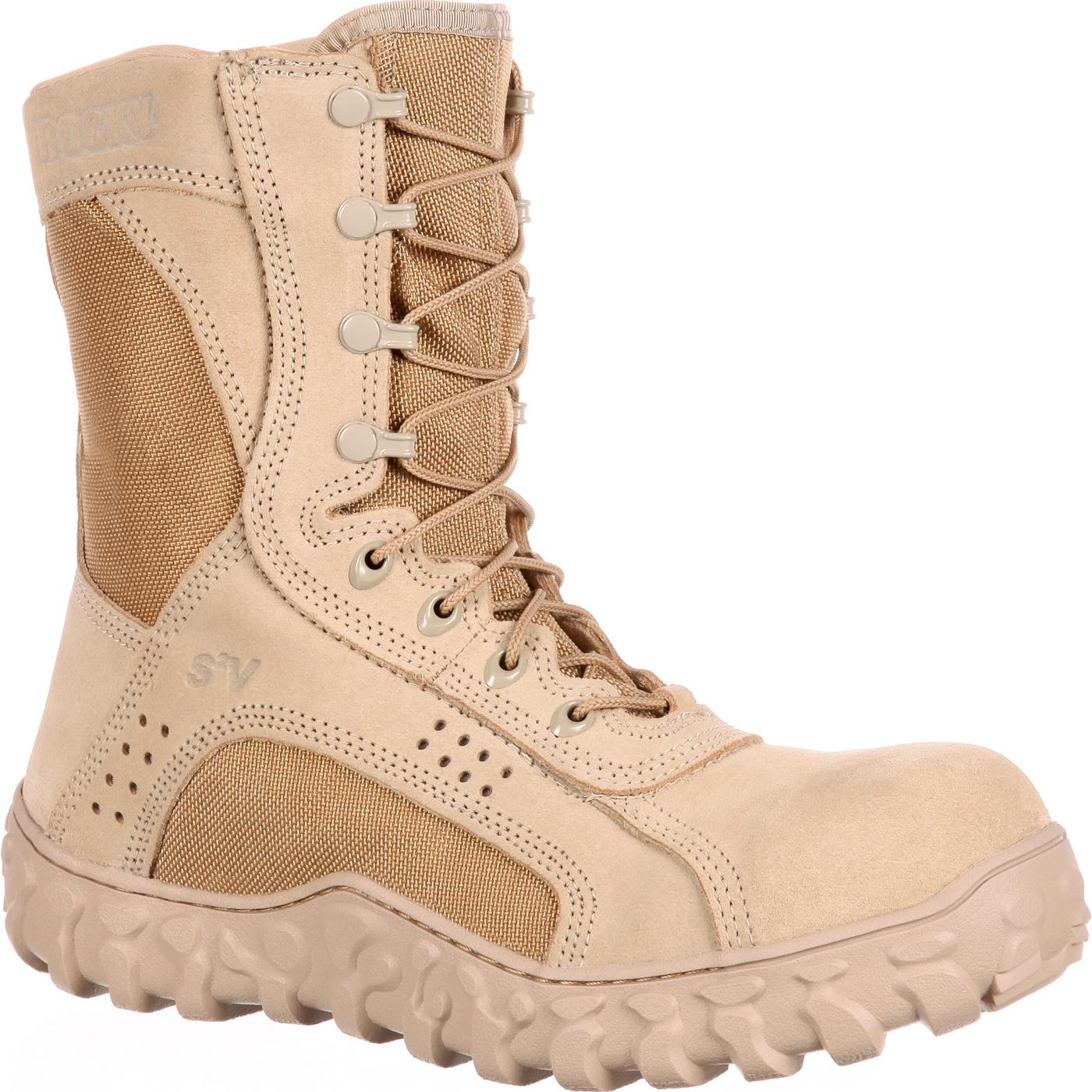 Rocky S2v Composite Toe Tactical Military Boot Rkyc028