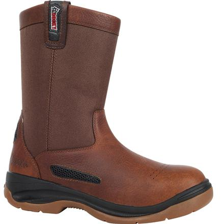 Rocky ErgoTuff Cool Wellington Work Boot, , large