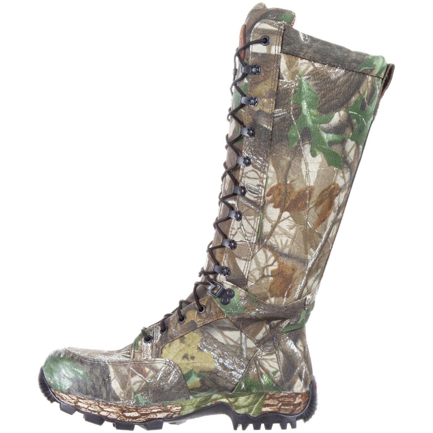 Rocky Men S Waterproof Camouflage Snake Boot Rks0165ia