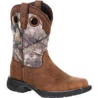 Rocky LT Little Kids' Waterproof Camo Western Boot, , medium