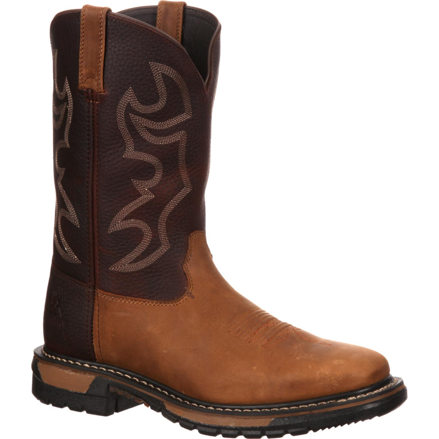 Rocky Original Ride Western Boots For Comfort Rkyw037