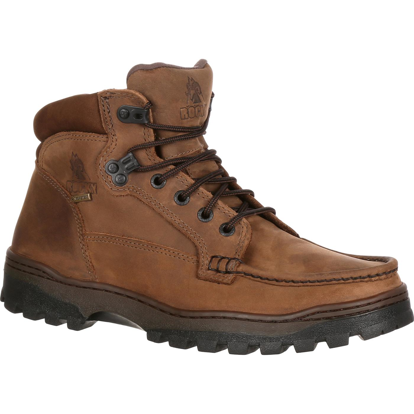 Gore Tex Brown Shoes
