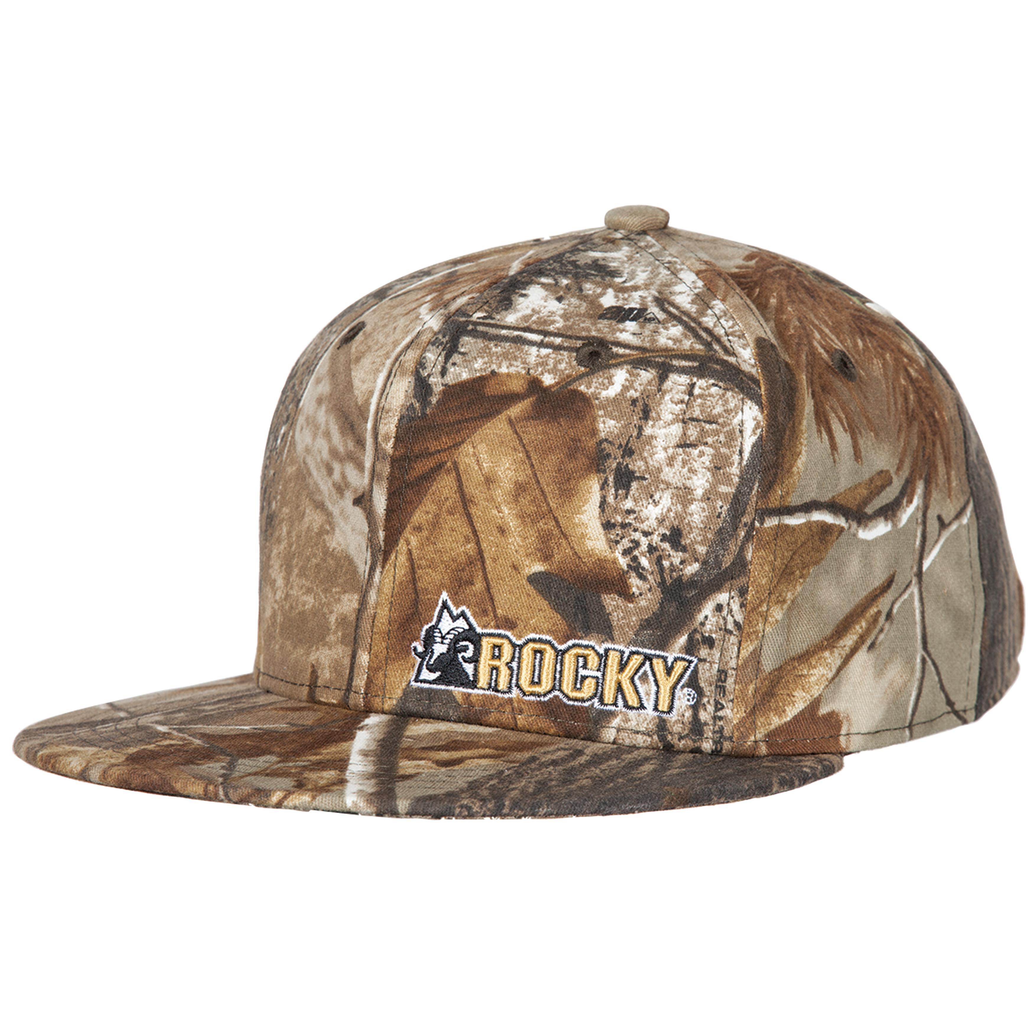 Rocky Boots Men S Camouflage Flat Bill Cap Style Lw00084