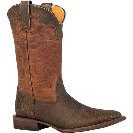 Rocky HandHewn Square Toe Western Boot, , large