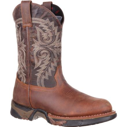 Rocky Aztec Waterproof Western Pull-on Boot, , large