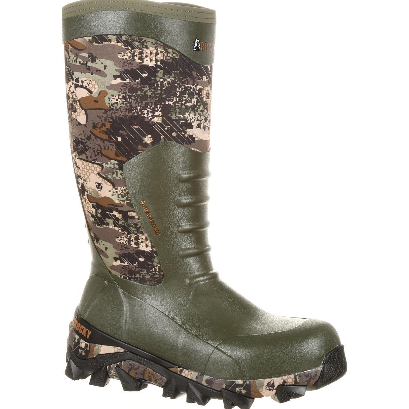 Rocky Claw Rubber Waterproof Outdoor Boot Rks0328