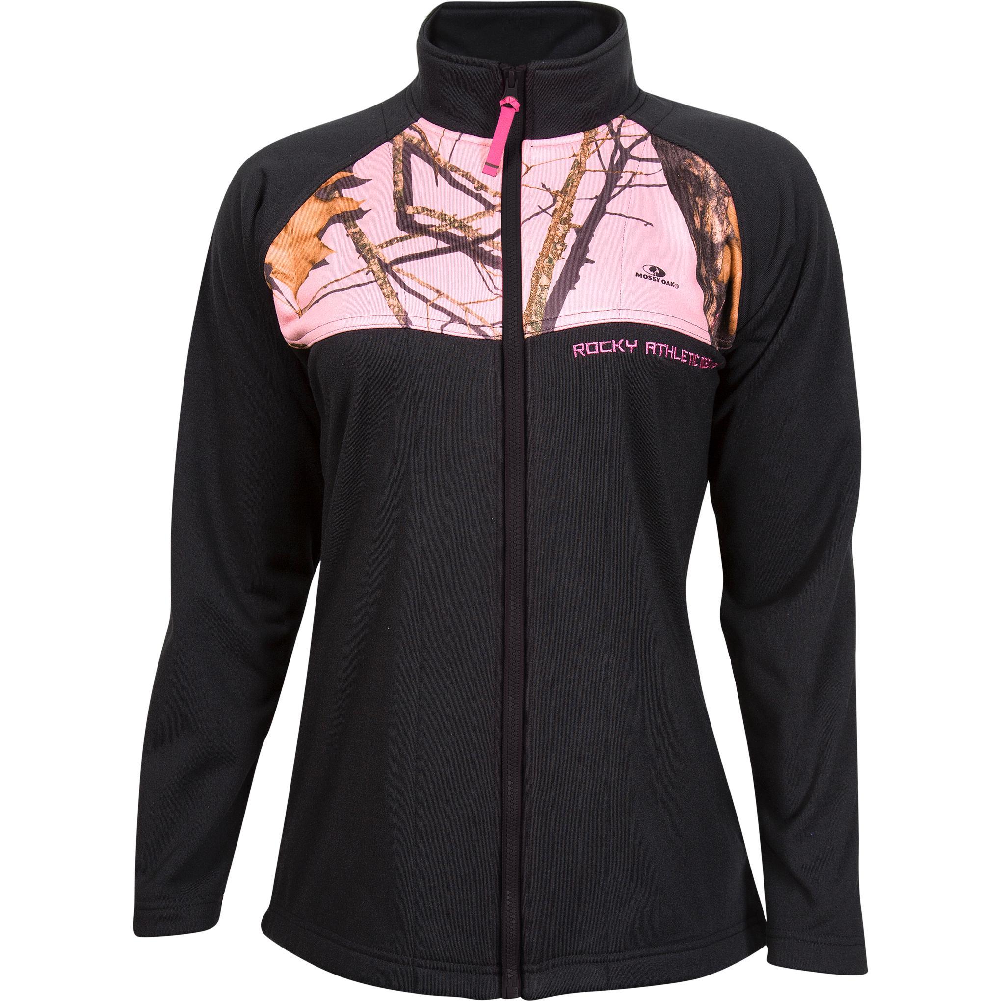 Women's Full Zip REALTREE CAMO Fleece Jacket w/ FREE SHIPPING