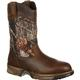 Rocky Aztec Waterproof Camo Pull-On Boots, , small