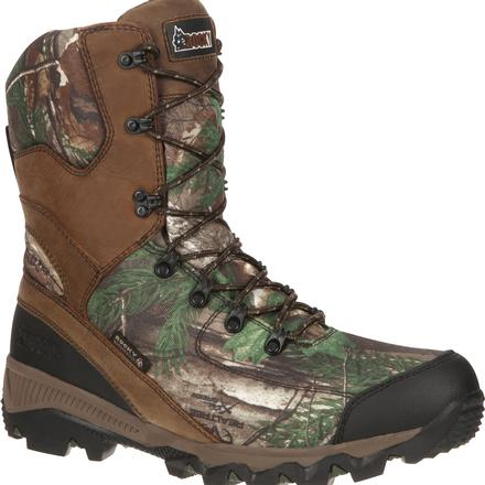 Rocky Adaptagrip Waterproof 1000G Insulated Realtree Outdoor Boot, , large