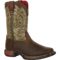 Rocky Little Kid Long Range Square Toe Western Boot, , medium