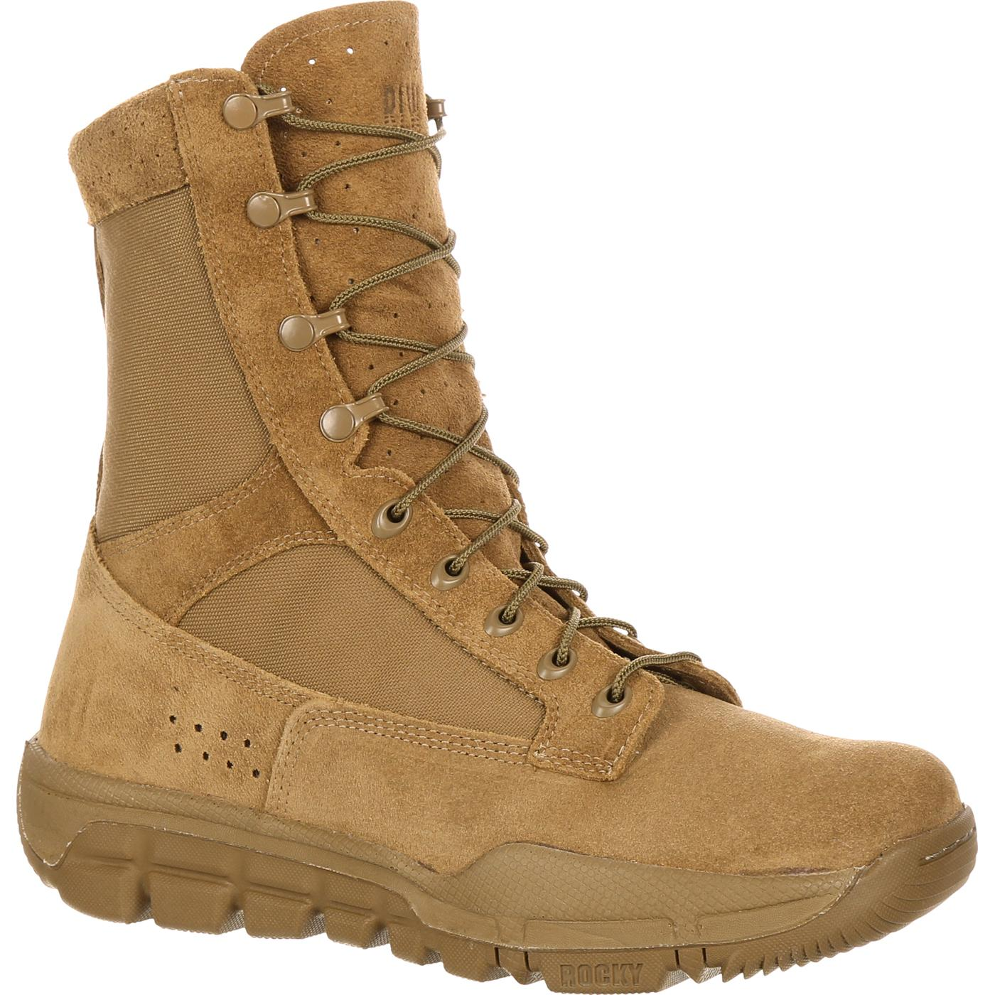 Rocky Lightweight Commercial Military Boot Style Rkc042