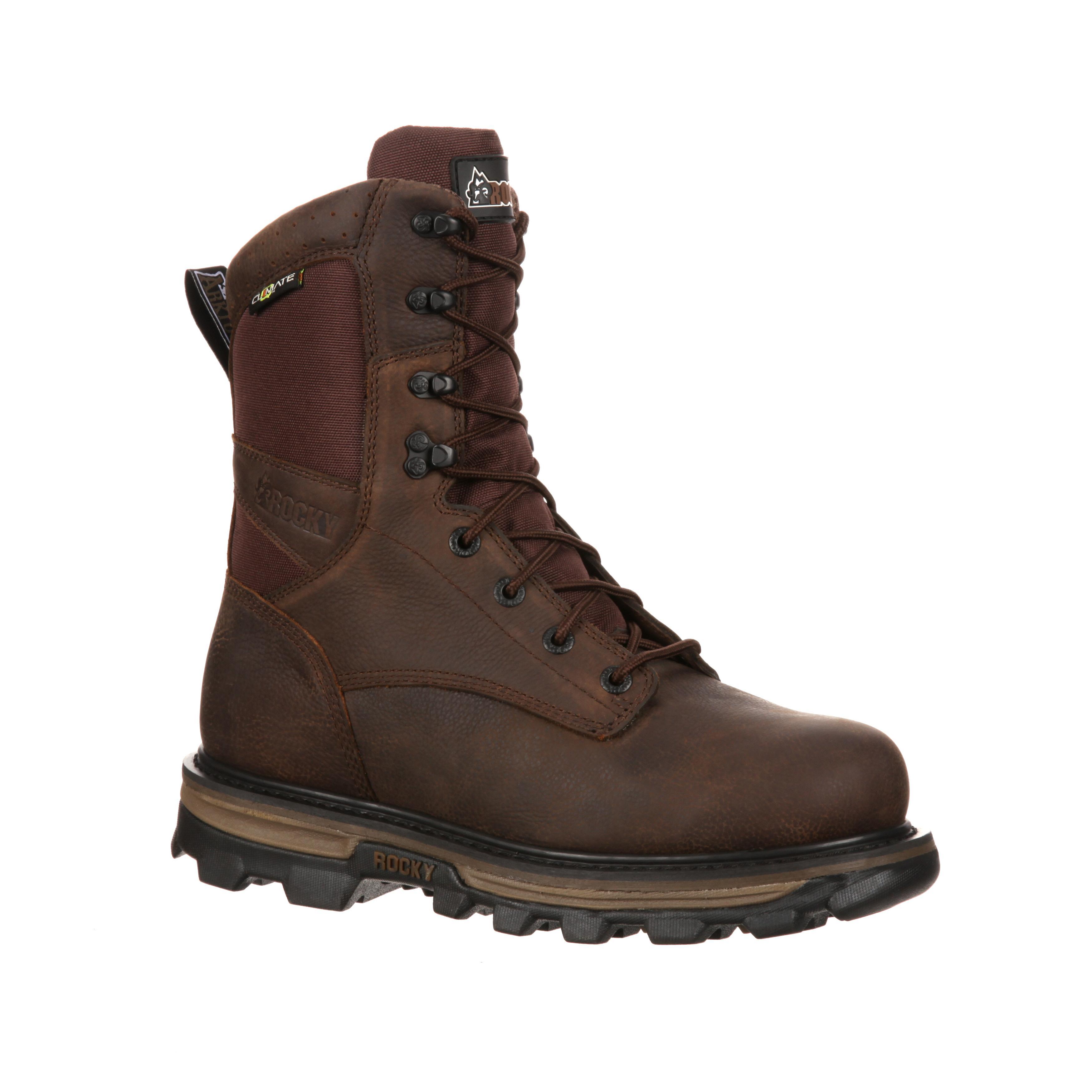 rocky arktos waterproof insulated outdoor boot rkys047