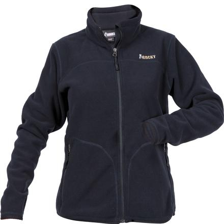 Rocky Women's Fleece Jacket, BLACK, large