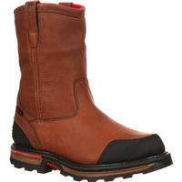 Rocky Elements Dirt Waterproof Wellington Work Boot, , medium