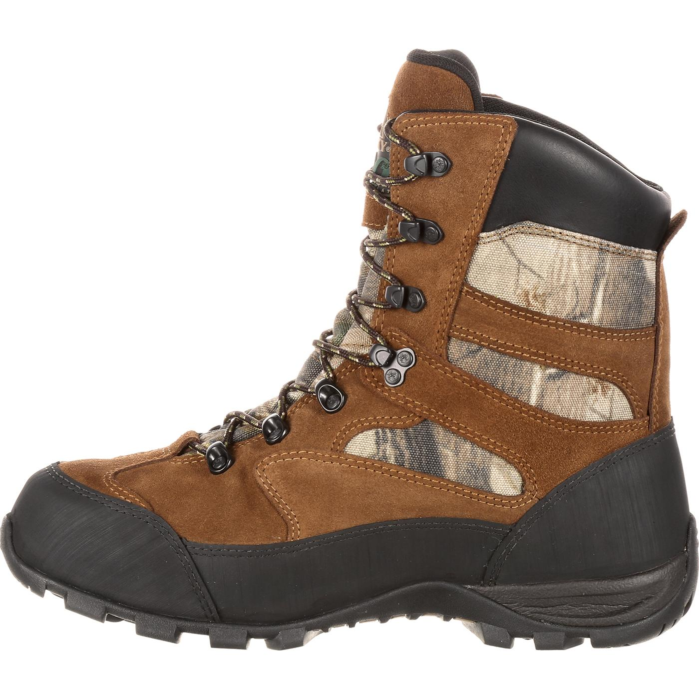 rocky boots tex waterproof insulated outdoor boot