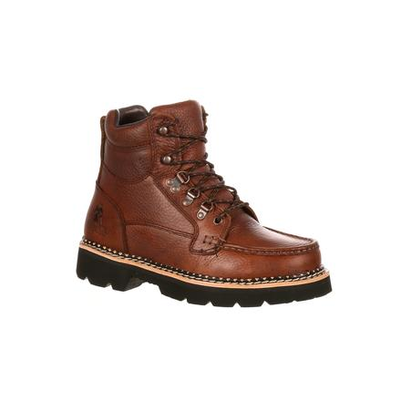 """rocky western men's 6"""" casual brown chukka lacer boots"""
