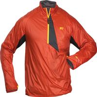 Rocky S2V Center Hold Wind Shirt, RED, medium