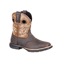 Rocky LT Women's Waterproof Saddle Western Boot, , medium