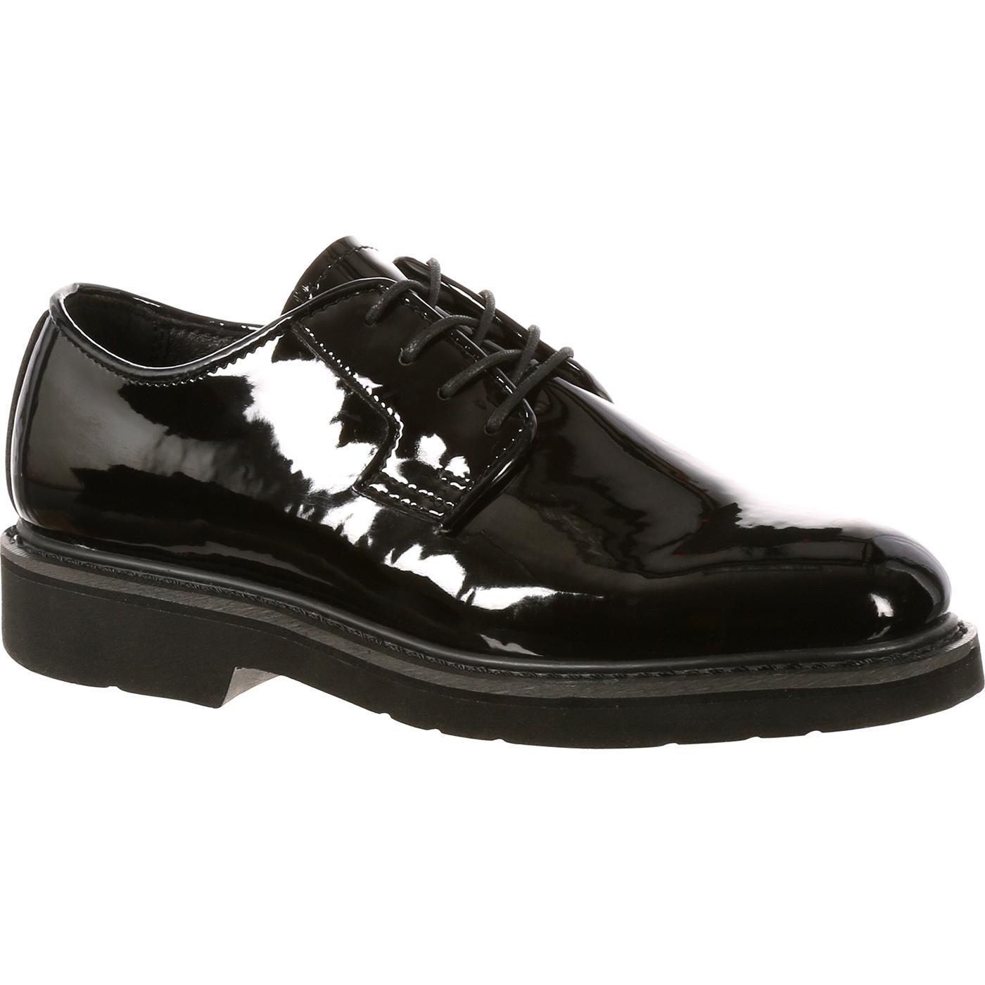 Rocky High Gloss Black Dress Leather Oxford - FQ000510-8