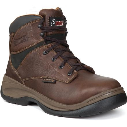 Rocky ErgoTuff Steel Toe Waterproof Work Boot, , large