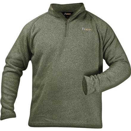 Rocky Casual Lifestyle 1/4 Zip Sweater Fleece, Loden(Green), large