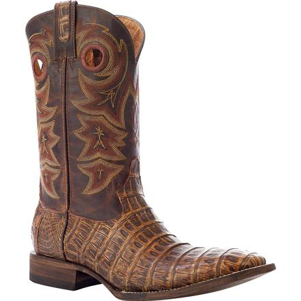 Rocky HandHewn Exotic Western Boot, , large