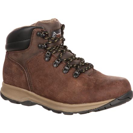Rocky Waucoma Steel Toe Waterproof Hiker Work Boot, , large