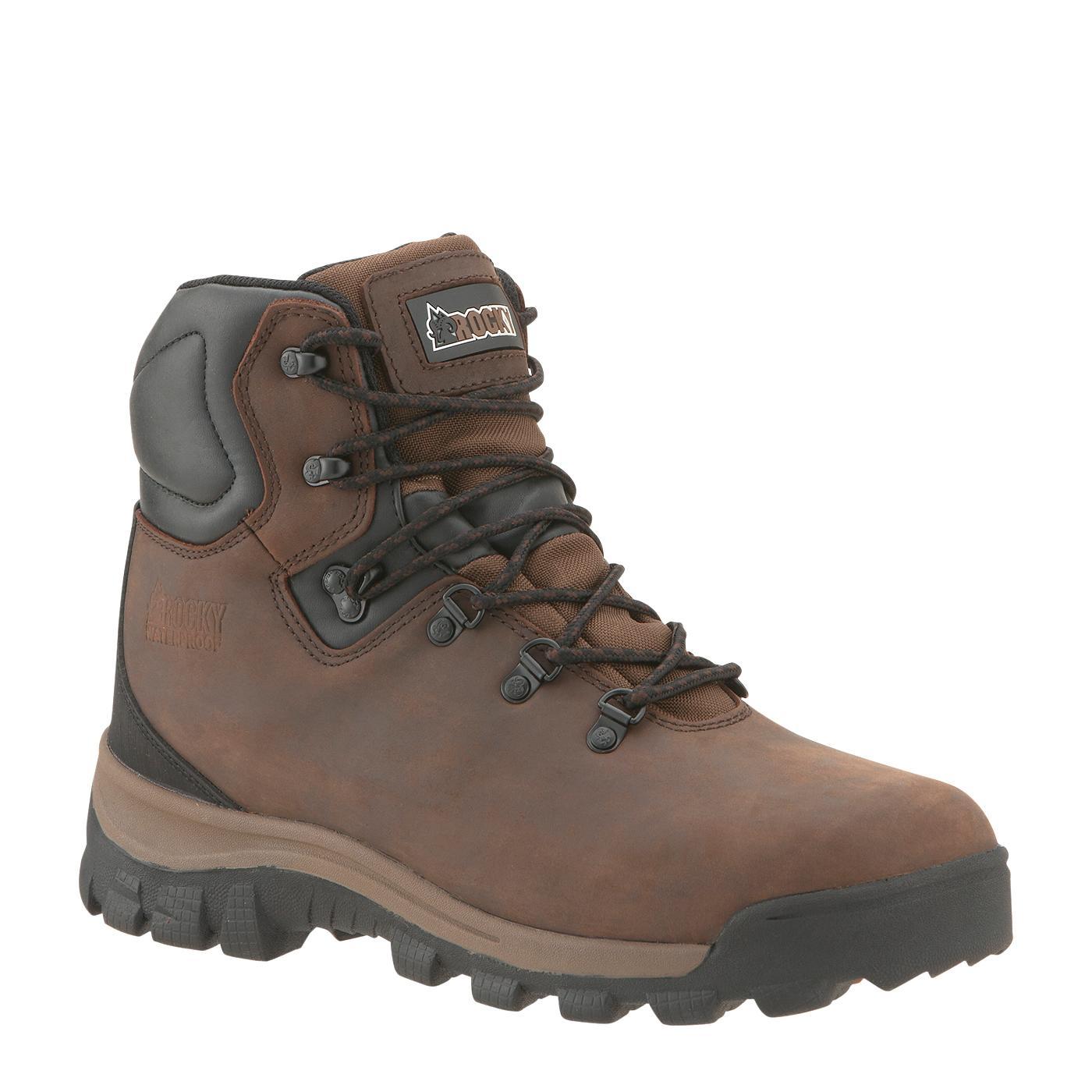 Rocky Core Men S Waterproof Hiking Work Boots Style 2421