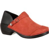 4EurSole Inspire Me Women's Nubuck Leather Clog, , medium
