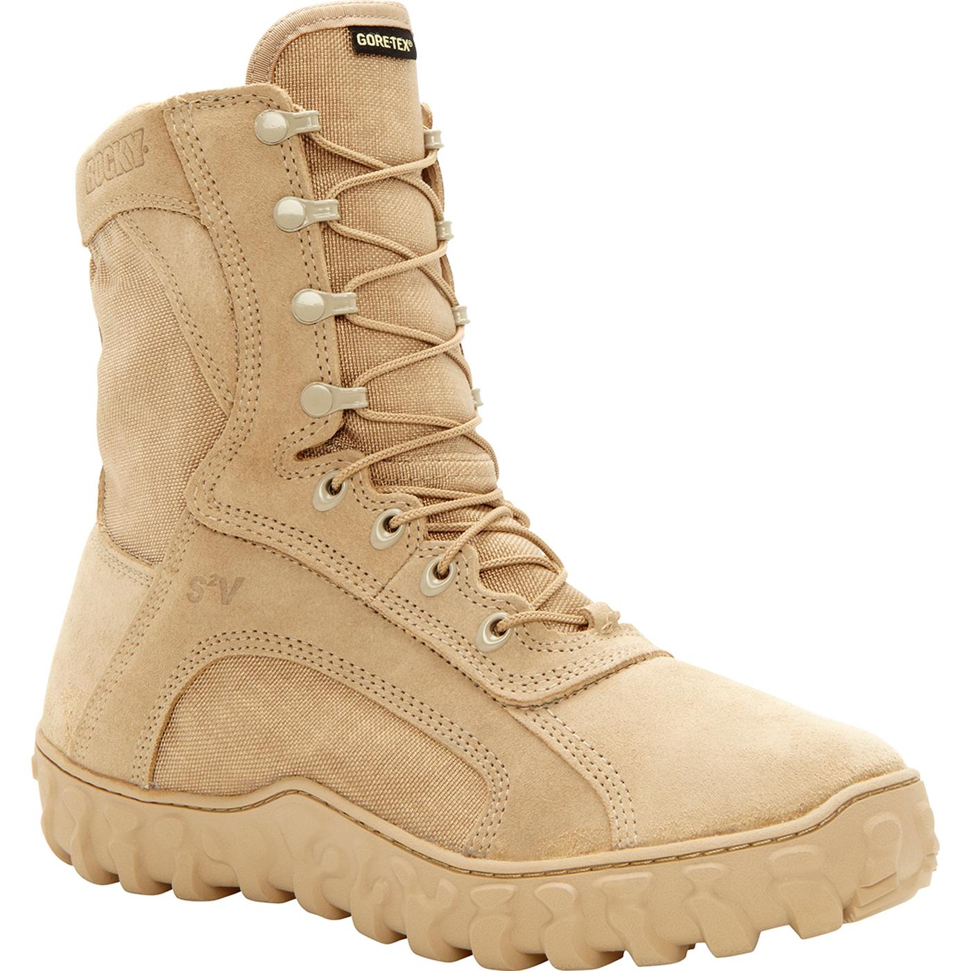 Rocky S2v Gore Tex Waterproof Insulated Military Boots