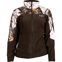 Rocky SilentHunter Women's Fleece Jacket, Mo Pink Camo, medium