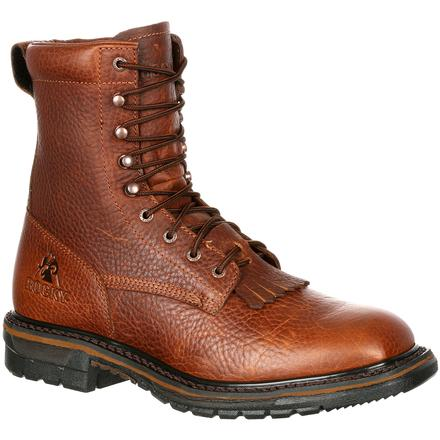 Rocky Original Ride Waterproof Western Lacer Boot, , large