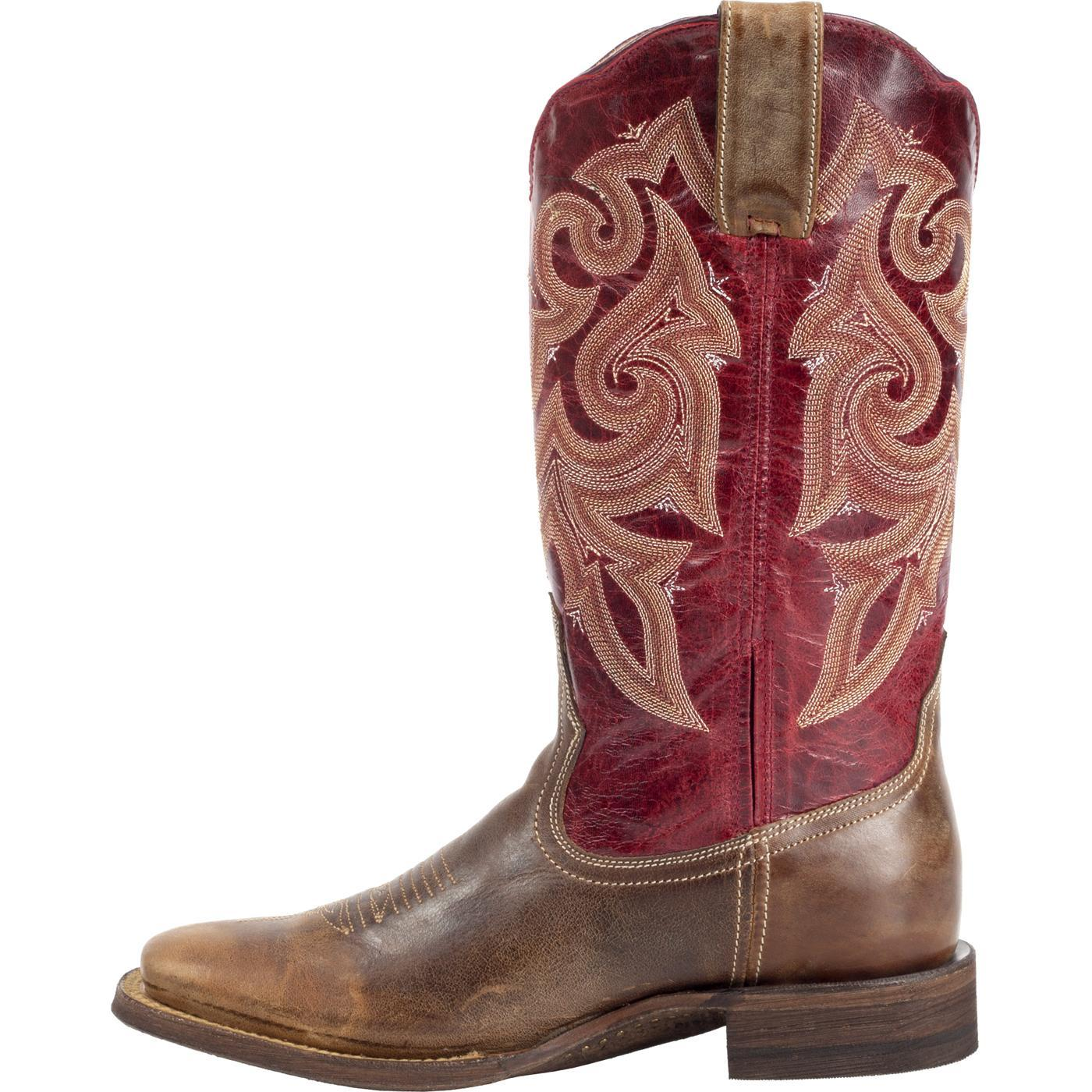 """12"""" Rocky HandHewn: Women's Square-Toe Western Boots"""