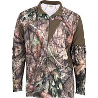 Rocky SilentHunter 1/4 Zip Shirt, Mossy Oak Country, medium