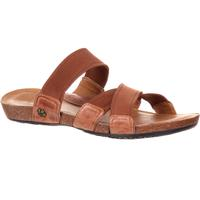 4EurSole Spring Mist Women's Flat Cross Strap Slide Sandal, , medium