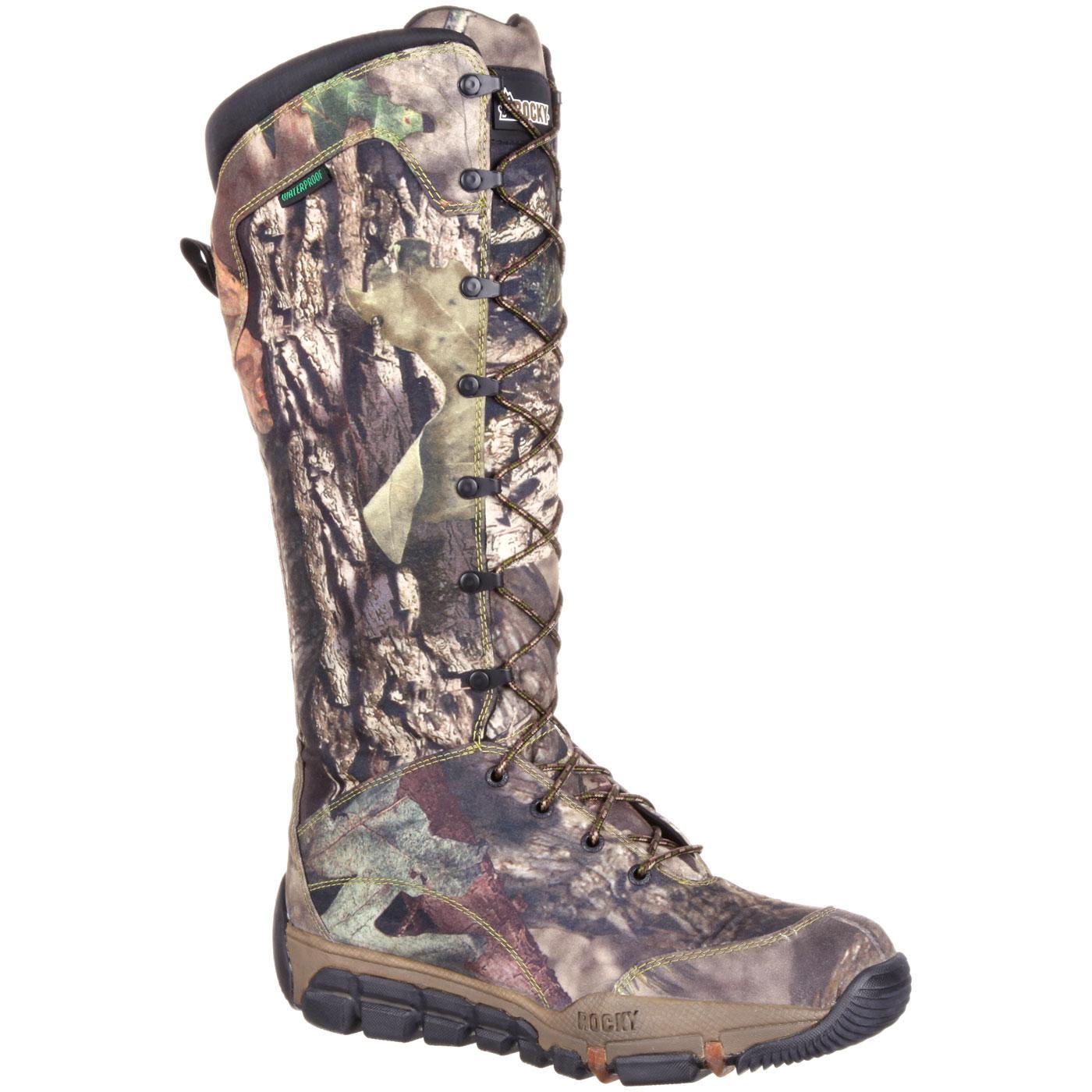 Rocky Gameseeker Waterproof Camouflage Snake Boot Style