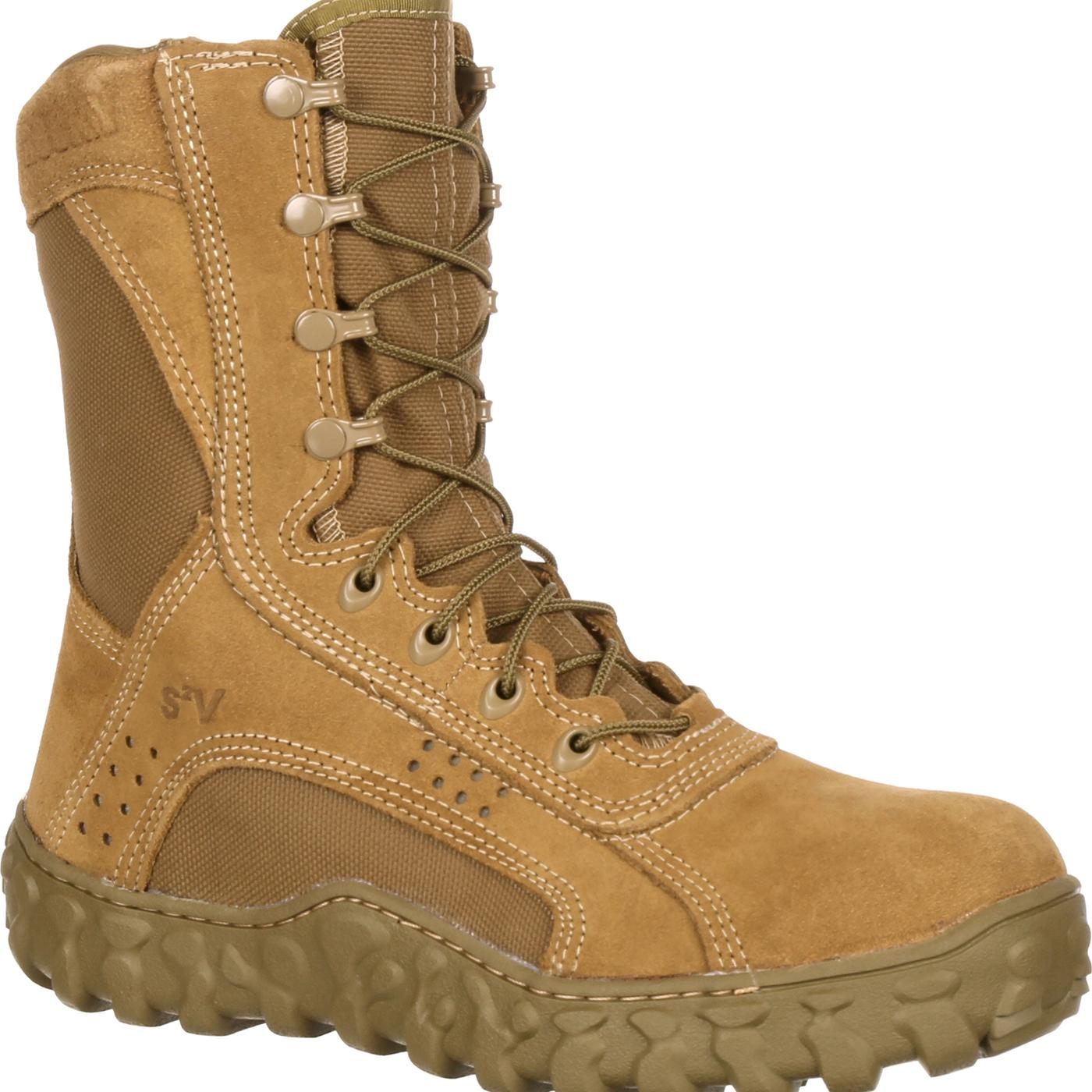 Rocky S2v Steel Toe Military Boot Work Boot