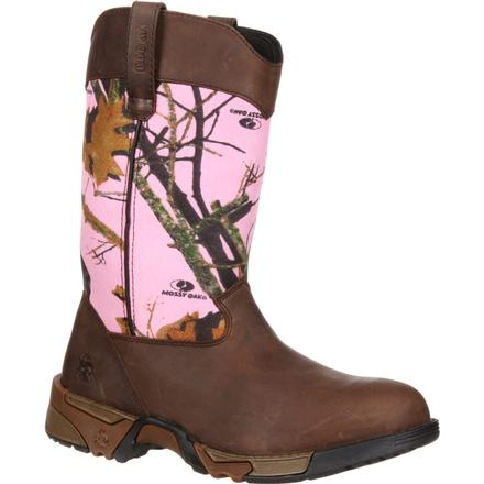 latest arrives hot products Rocky Women's Aztec Pink Camouflage Boot, style #RKYS133