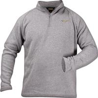 Rocky Casual Lifestyle 1/4 Zip Sweater Fleece, GRAY, medium