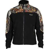 Rocky SilentHunter Fleece Jacket, MossyOak/Blk, medium