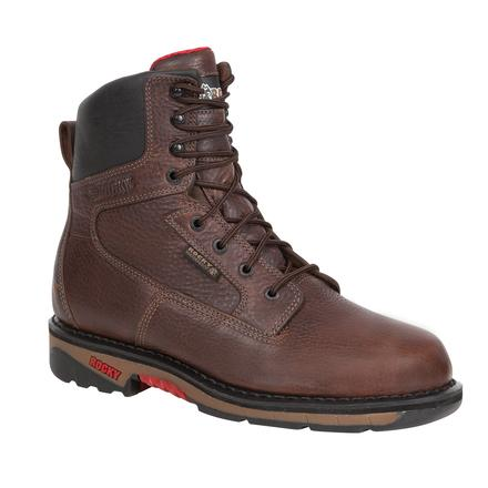 Rocky Ride Waterproof Work Boot, , large