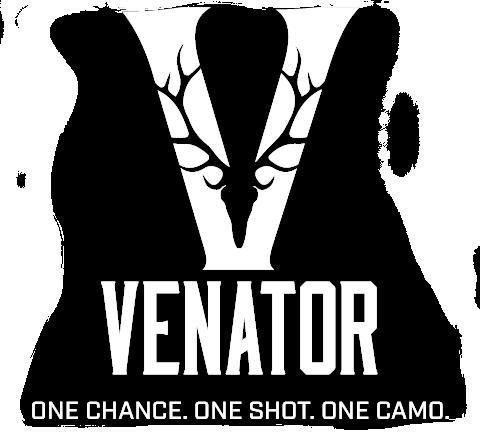 Venator. One Chance. One Shot. One Camo.