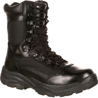 Rocky Fort Zipper Waterproof Public Service Boot - Web Exclusive, , large
