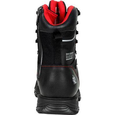 "Rocky XO-Toe Composite Toe PR Waterproof 8"" Side Zip Work Boot, , large"