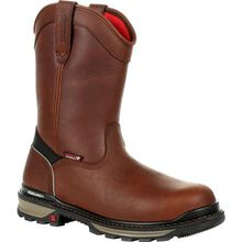 Rocky Rams Horn 400G Insulated Waterproof Composite Toe Pull-On Work Boot
