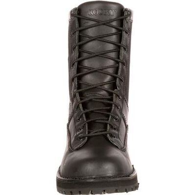 Rocky Portland Lace-to-Toe Waterproof Public Service Boots, , large
